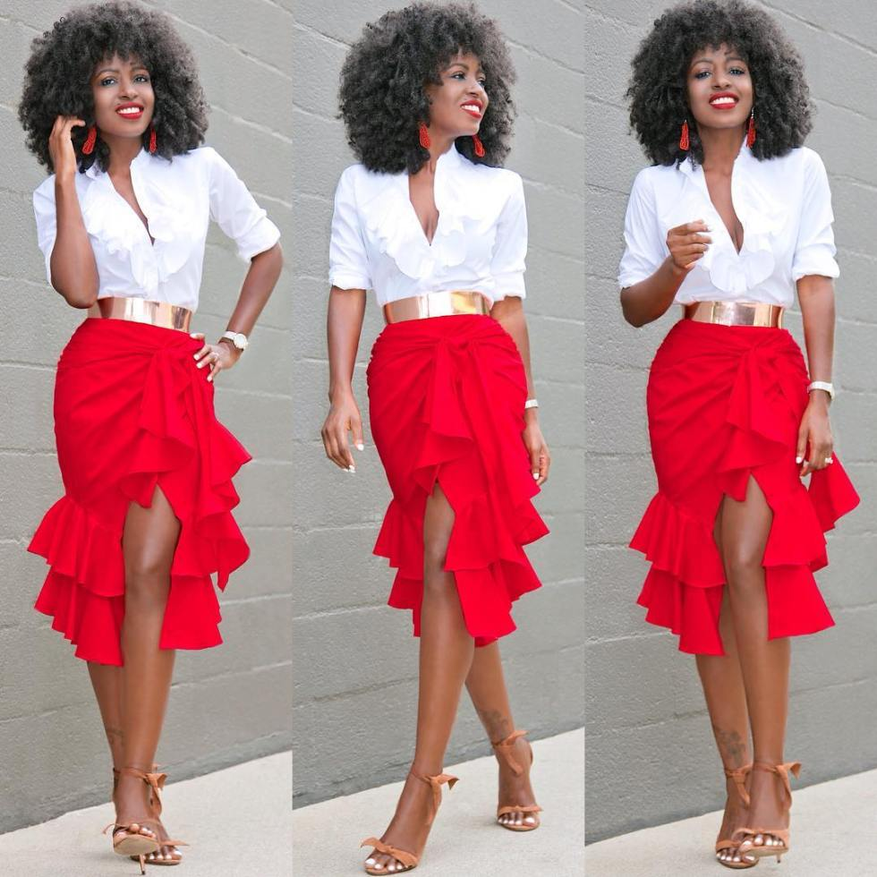 Look 2: Folake Huntoon