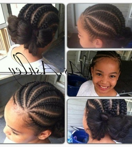 little girl hairstyles / braids / protective hairstyle within braid hairstyles for toddlers braid hairstyles for toddlers For Encourage - Proper Hairstyles