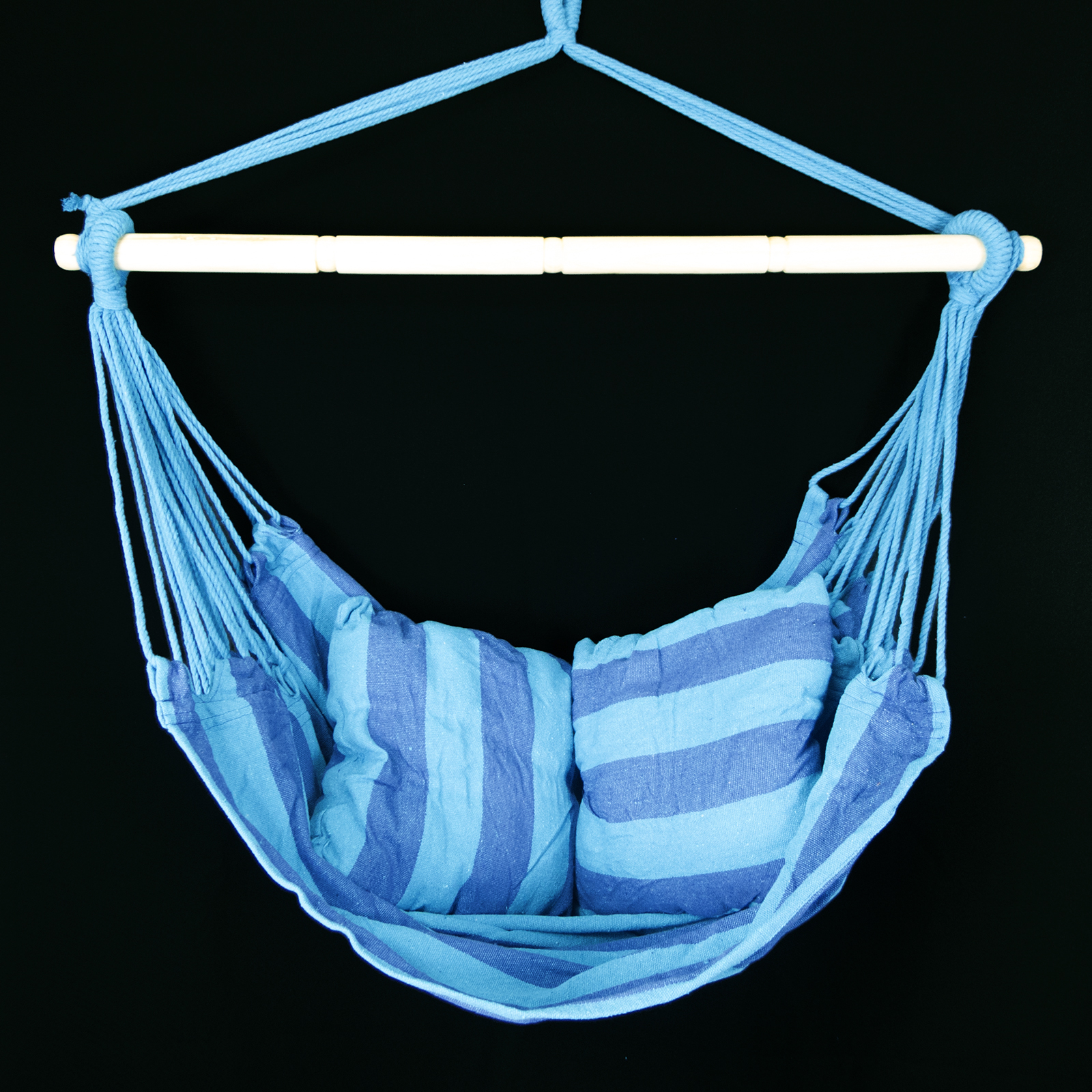 Outdoor Swing Chair Hanging Camping Cotton Pillow Bed