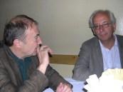 IFC 2005 Romania - Wolfgang Bauernfeind (left) with Aldo Gardini (r) | photo by Jean-Claude Kuner