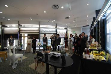 The IFDA Japan Chapter held it's 2013 Take A Seat action and gala at Sangetsu Osaka Showroom in Osaka City.