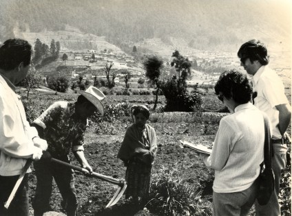 1975 - IFDC provides first technical assistance to Latin America