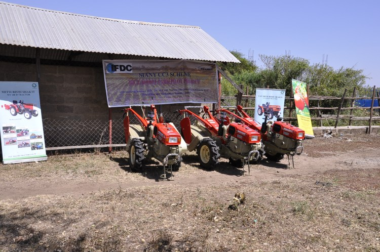 Nyabon Enterprises makes various technologies available for rental by farmers.