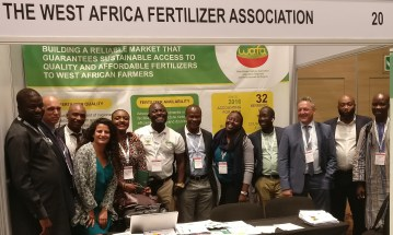 WAFA booth during CRU/AFAP Africa Fertilizer Agribusiness Conference