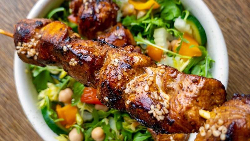 Satay di pollo alla thailandese