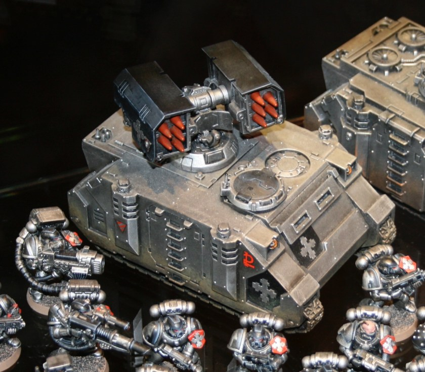Iron Knights Space Marines Whirlwind