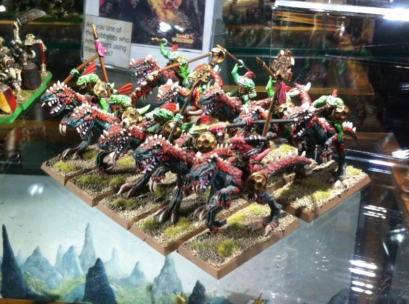 Tichi-Huchi's Raiders Skink Horned One Riders.