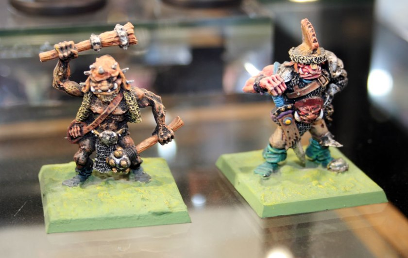 classic Warhammer Fantasy ogres from the 1980s