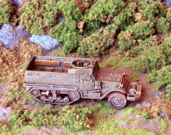 Flames of War M5 Half Tracks