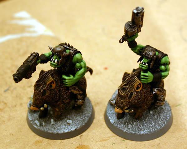 Feral Ork Boar Boyz
