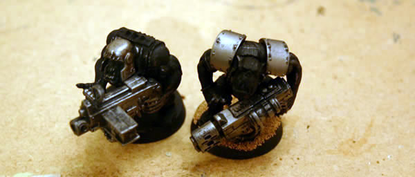 Ork Lootas  with Heavy Bolter and Multi-Melta...