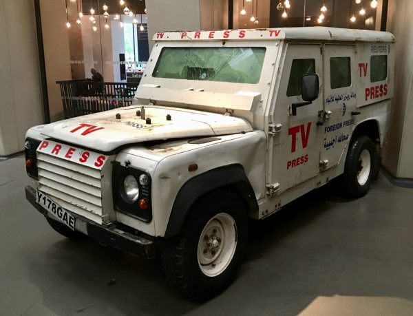 Armoured Press Land Rover