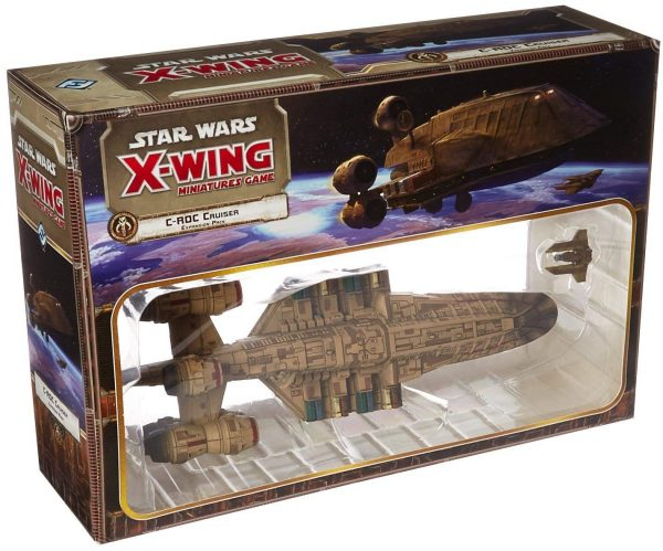 Star Wars X-Wing Miniatures Game: C-ROC Cruiser Expansion Pack - First Edition