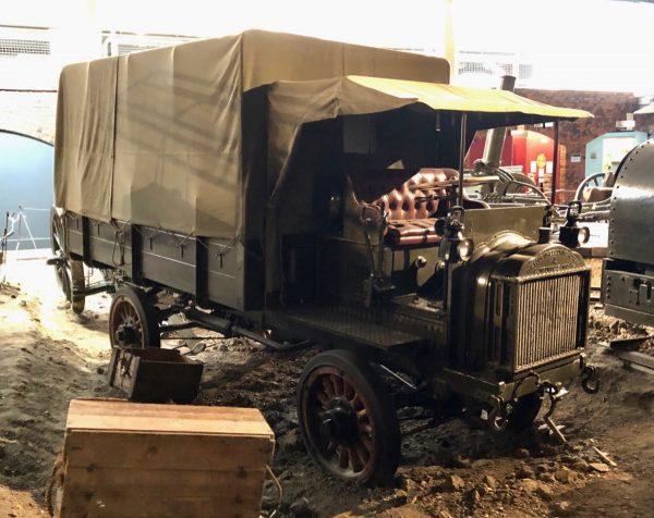 FWD Model 'B' 4x4 truck