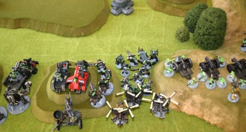 Orks about to enter battle