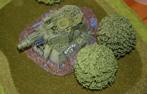 Emplaced Imperial Guard Turret