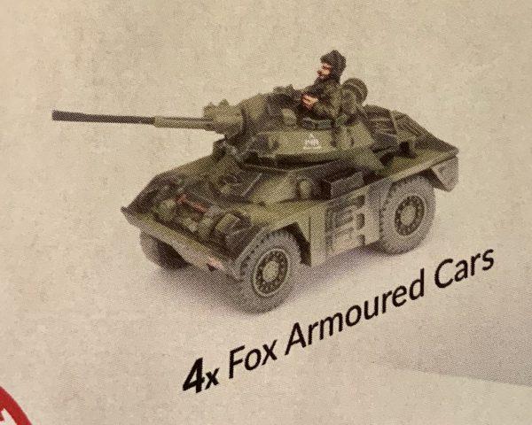 Fox Armoured Cars