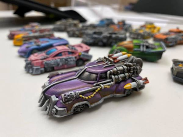 Car Wars Miniatures