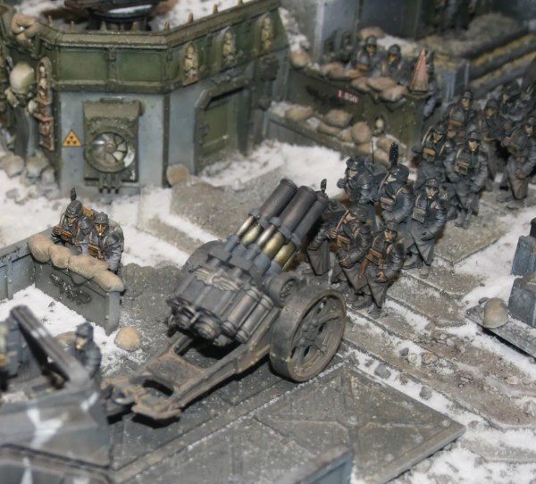 Death Korps of Krieg Quad Launcher
