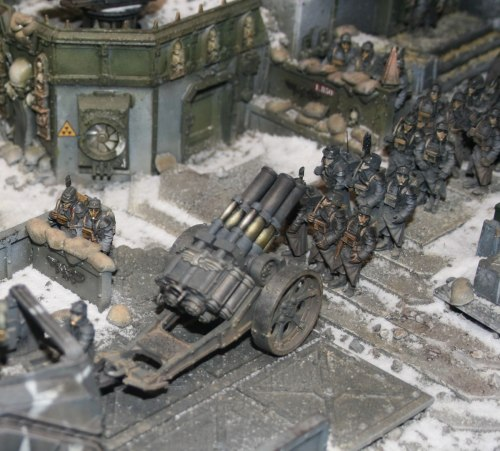 Death Korps of Krieg Quad Launcher
