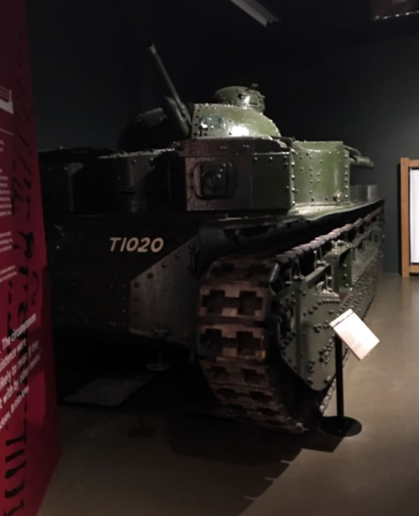Vickers A1E1 Independent Tank