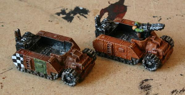 Epic Forgeworld Ork Gunwagons