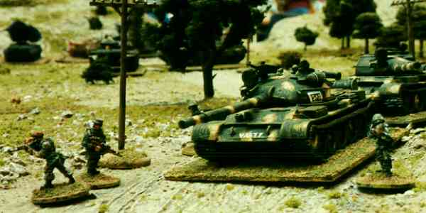 Soviet T62 Tanks