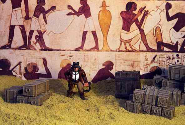 Talisman Adventurers in an Egyptian setting