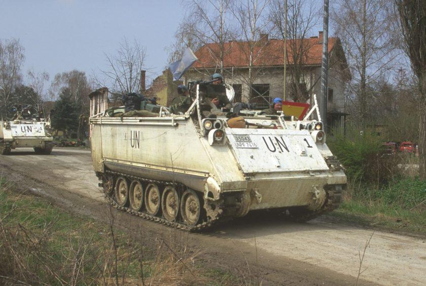 UN forces near to Bridgwater