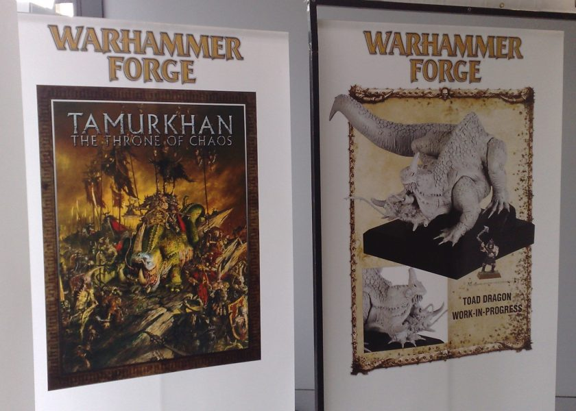 Warhammer Forge Posters at GamesDay 2010