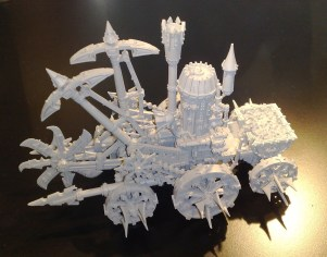 Chaos Dwarf Steam Engine Skullcracker