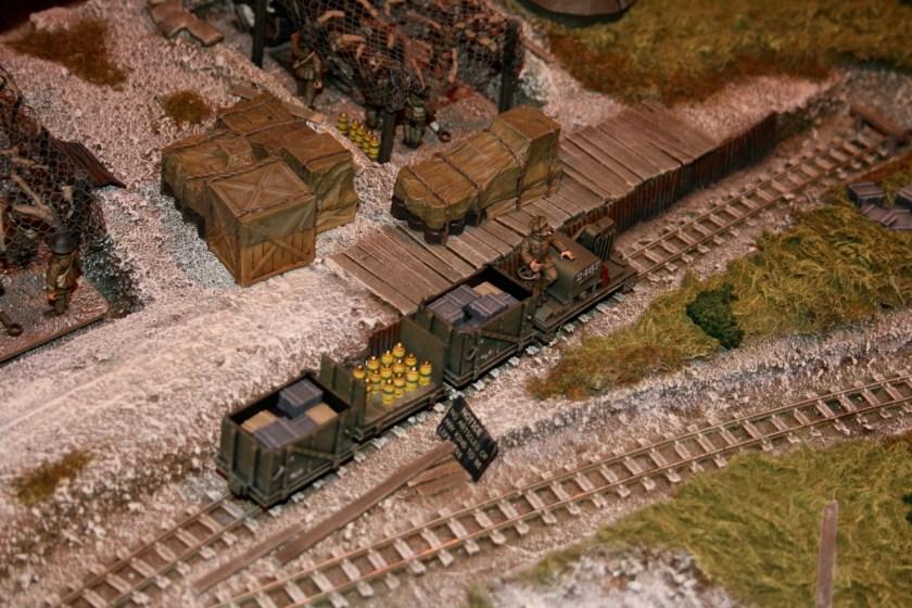British ammunition narrow gauge railway