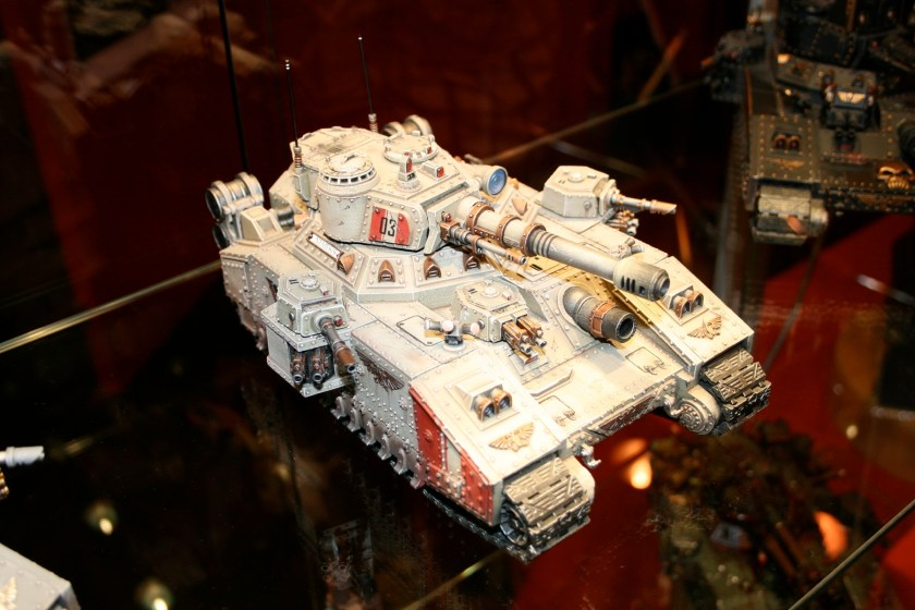 Voystroyan Baneblade on display at GamesDay 2007