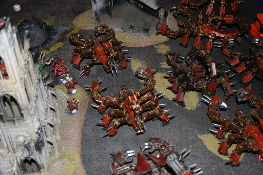 Lots of Brass Scorpions from GamesDay 2008.