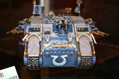 Marneus Calgar of the Ultramarines' Land Raider