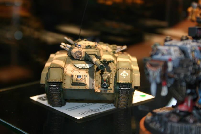 Really nicely painted Imperial Chimera from the 2005 UK Golden Demon awards.