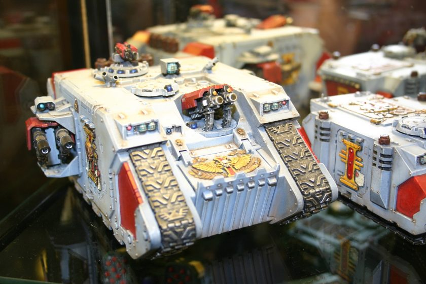 Land Raider with Forgeworld Inquistor Doors