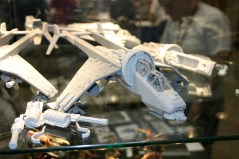 With the release of the plastic Valkyrie, Forge World at their Forge World Open Day 2009 showed off a new Vulture conversion kit.