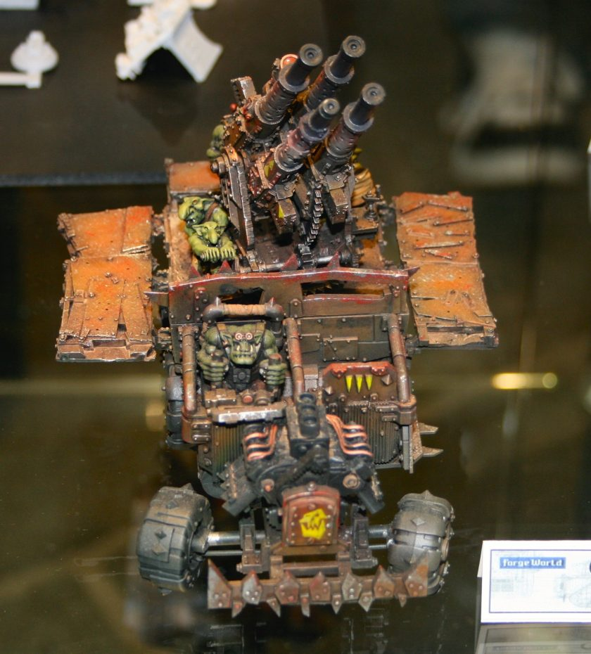Ork Flakk Wagon taken at the Forge World Open Day 2009.