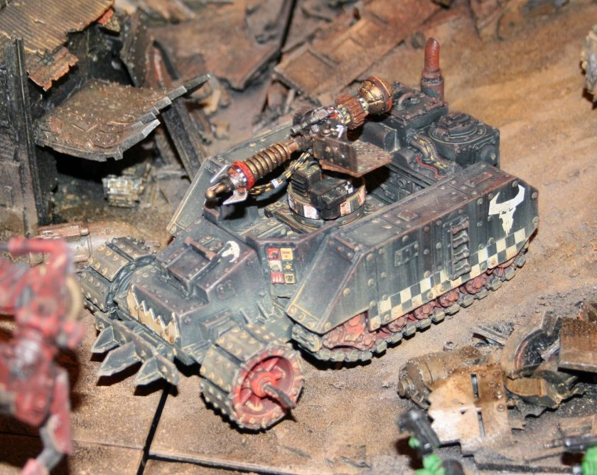 Forge World Ork Gunwagon with Big Zappa