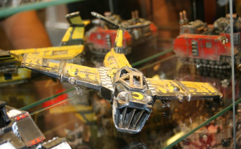 Ork Bommer, from the Forge World Displays at GamesDay 2009.