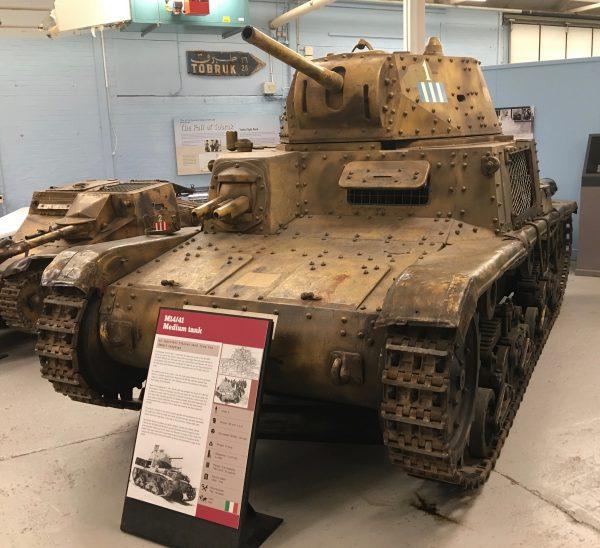 M14/41 Medium Tank