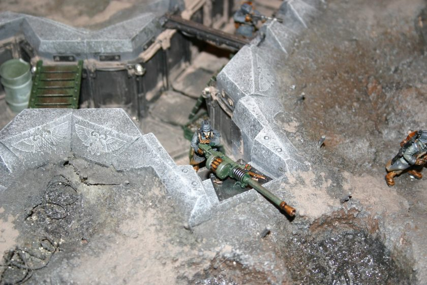 Death Korps of Krieg Gunner with Autocannon.