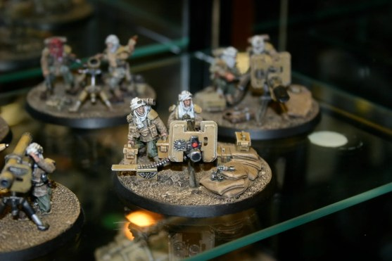 Tallarn Heavy Bolter Team. From the Forgeworld displays at GamesDay 2006.