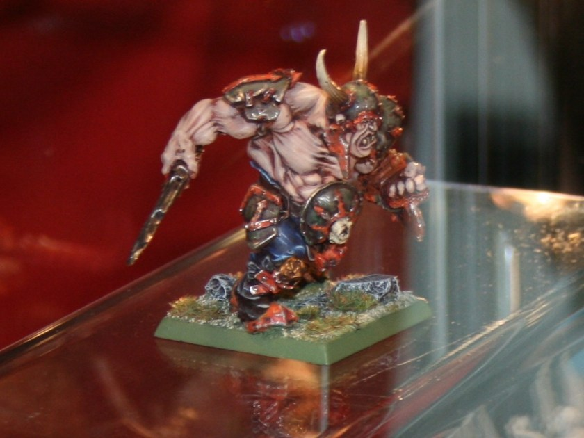 Chaos Ogre at GamesDay 2010