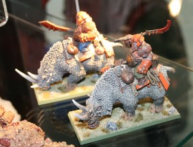 Warhammer Forge Rhinox at GamesDay 2010