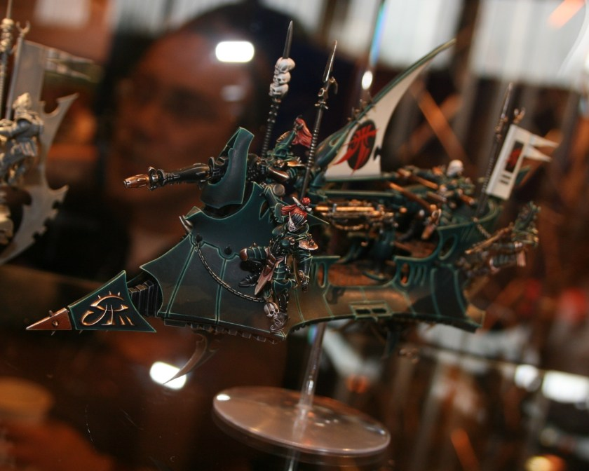 New Dark Eldar Raider on display at GamesDay 2010.