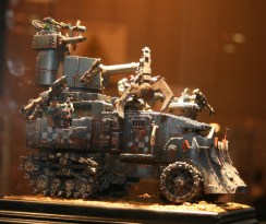 Converted Battlewagon from Golden Demon at GamesDay 2010.