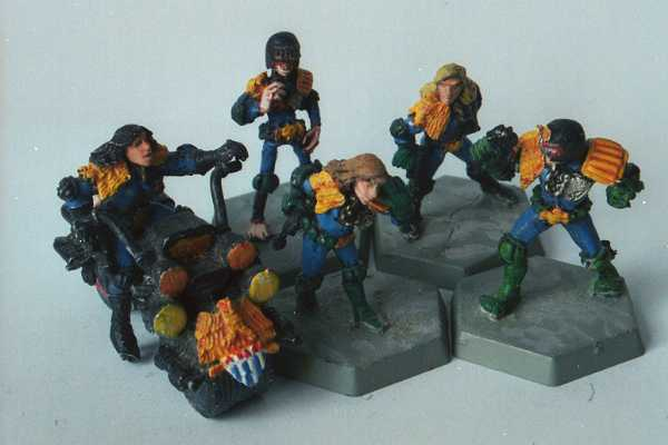 Judge Dredd and friends