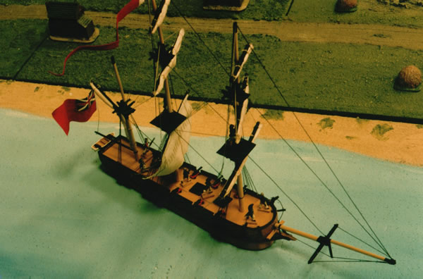 Seven Years War Ship